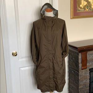 LL Bean Women's Plus Size 2X Rain Coat Jacket
